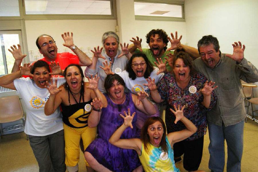Formación de líderes del Yoga de la Risa en Barcelona
